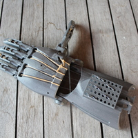 Small enable prosthetic hand with changeble finger positions 3D Printing 100008