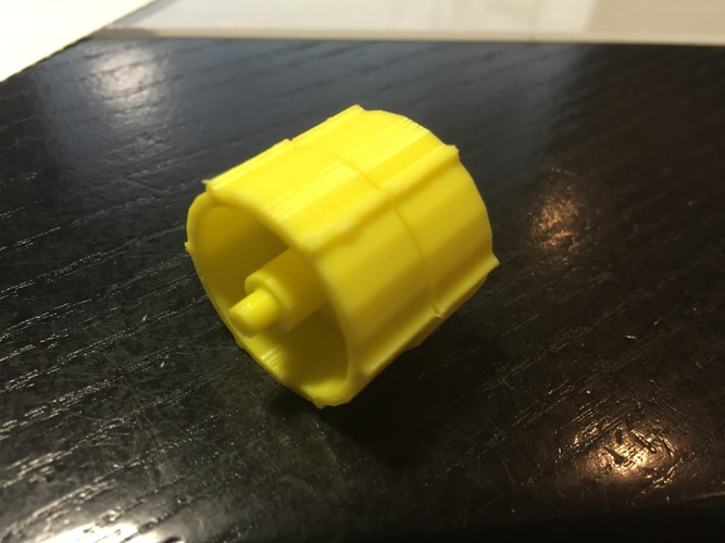 replacement for broken axle of Adhesive Tape Dispenser 3D Print 100022