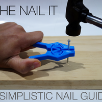 Small The Nail It - A simplistic nail guide for anyone. 3D Printing 100064