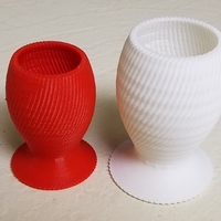 Small 3D Vase 3D Printing 100084