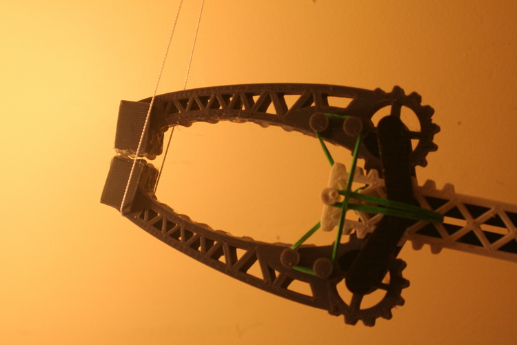 Versatile Assistive Grabber:  Highly Adjustable - Arm powered 3D Print 100222
