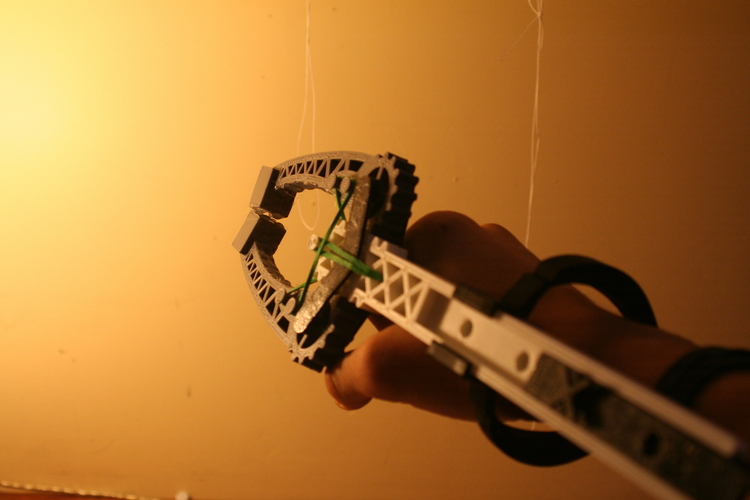 Versatile Assistive Grabber:  Highly Adjustable - Arm powered 3D Print 100228