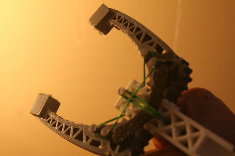 Versatile Assistive Grabber:  Highly Adjustable - Arm powered 3D Print 100229