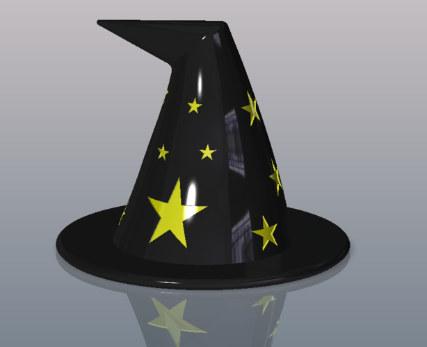 Witches Hat 3D Print 100328