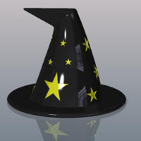Small Witches Hat 3D Printing 100328