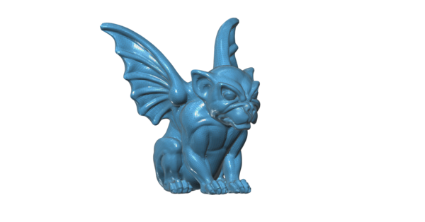 Medium Gargoyle 3D Printing 100657
