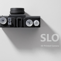 Small SLO Printed Lens Camera 3D Printing 100675