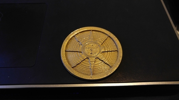 Medium Dark Souls Sunlight Medal 3D Printing 100702