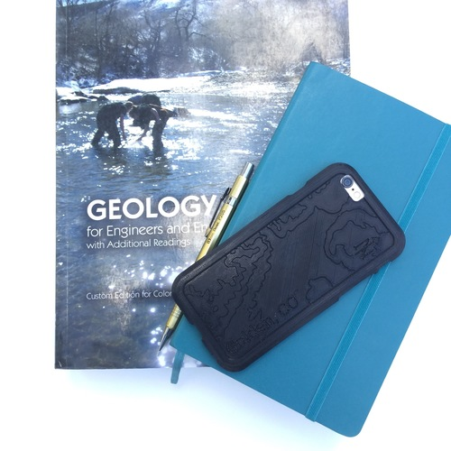 Topographic iPhone Case - Golden, CO 3D Print 100741