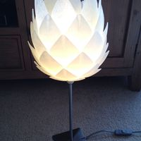 Small Pine Cone Lampshade 3D Printing 100766