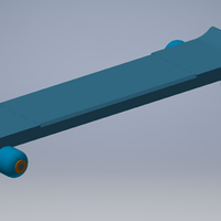 Small Skate Board 3D Printing 100772