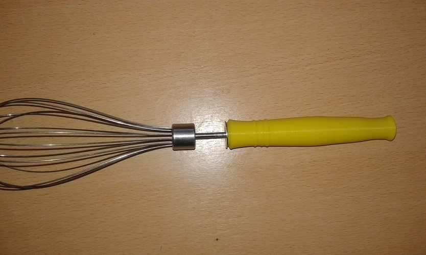 Mango para batidor - whisk handle 3D Print 100775