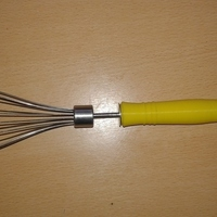 Small Mango para batidor - whisk handle 3D Printing 100775