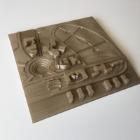 Small University Buildings Plan 3D Printing 100894