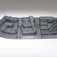 Small Campus Buildings 3D Printing 100913