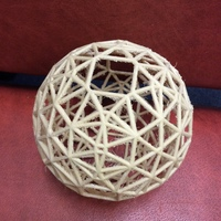 Small Hyperbolic polytope for d=-482 3D Printing 100939