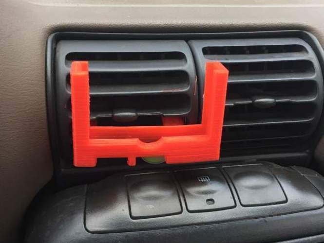 IPhone 6 car mount with Otter Box case 3D Print 100940