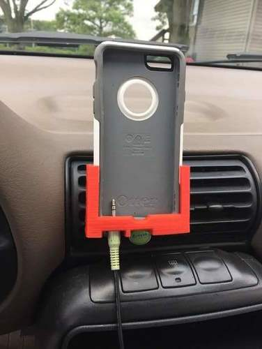 IPhone 6 car mount with Otter Box case 3D Print 100942
