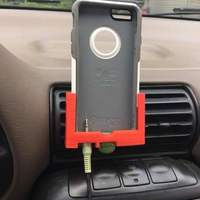 Small IPhone 6 car mount with Otter Box case 3D Printing 100942
