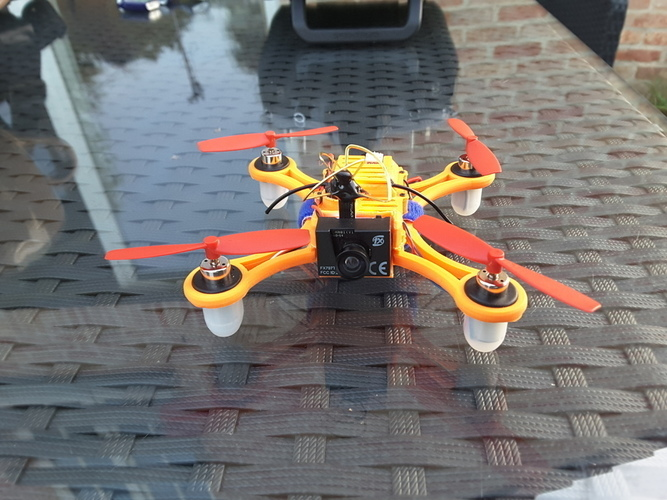 DC110  FPV for SP F3 RACING EVO Brush Flight control 3D Print 100951