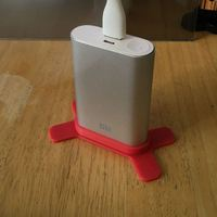 Small XiaoMi 10000mAh Power Bank Upright Stand 3D Printing 101245