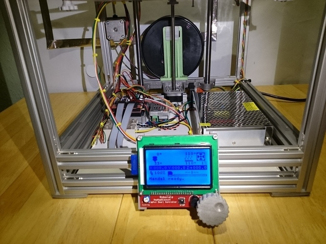 Ultimaker 2 Clone  + Ramps 1.4 = Cheap and Cheerful!  3D Print 101267