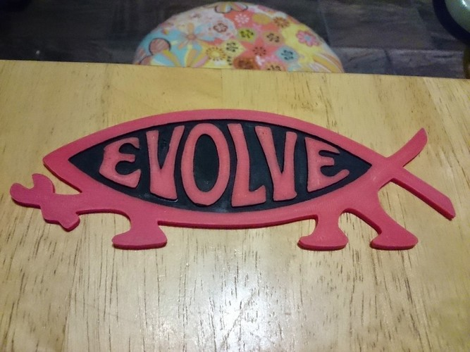 Makers Evolve Decal  3D Print 101298