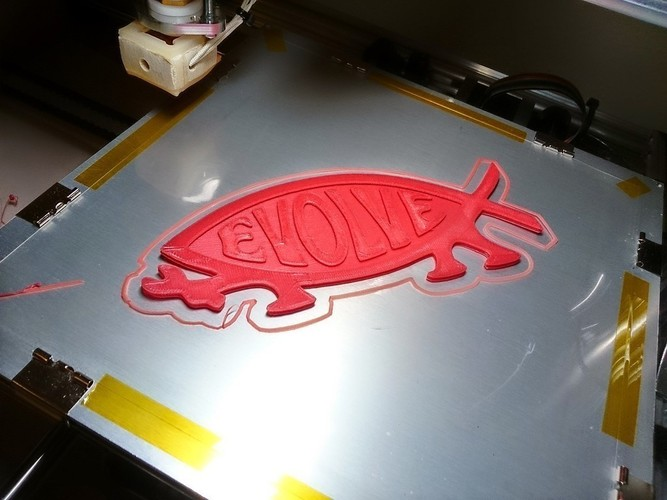Makers Evolve Decal  3D Print 101299