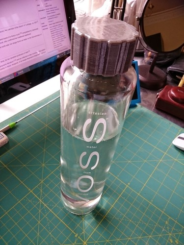 VOSS bottle screw cap 3D Print 101312