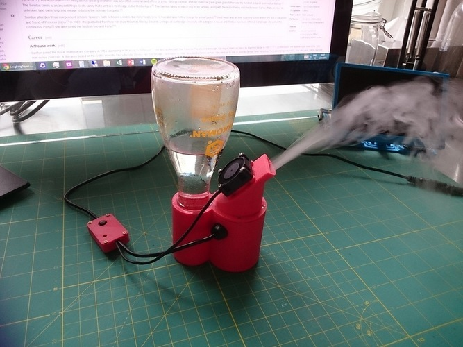 Mini Desktop Humidifier  3D Print 101317