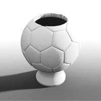 Small Soccer ball storage 3D Printing 101345