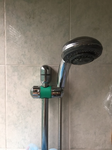Shower Head Holder - Slider 3D Print 101362