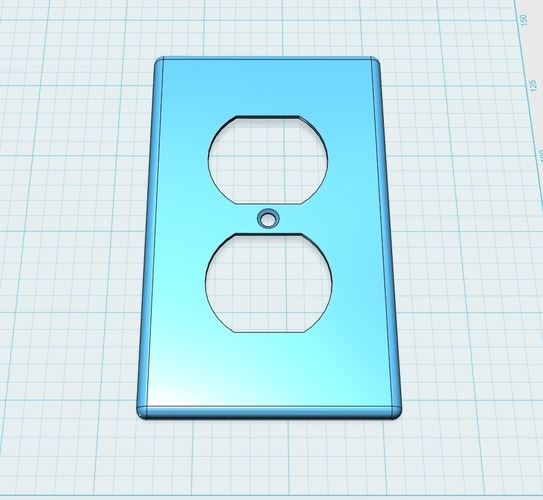 Leviton 27 compatible wall plate (US plugs, electrical) 3D Print 101375