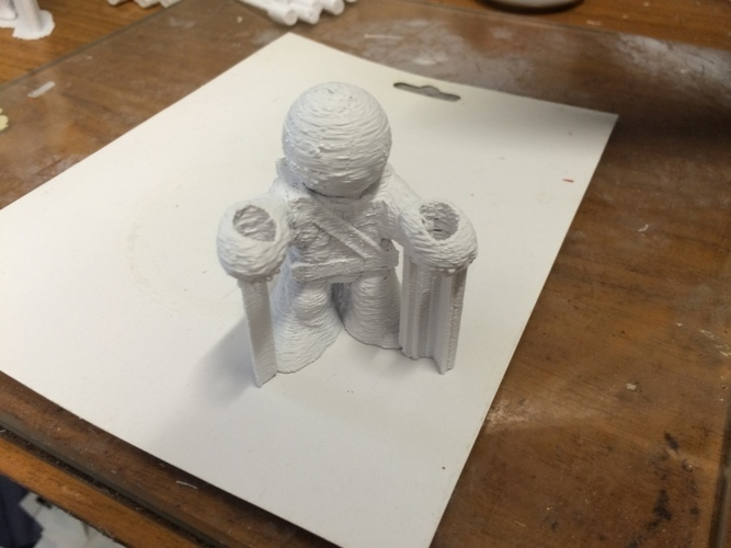 Little Ninja Dude 3D Print 101446