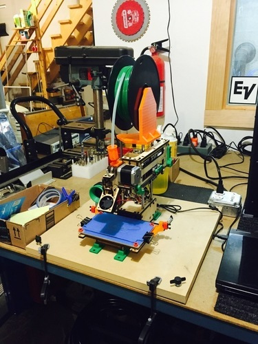 Printrbot Simple Platform Spool Holder 3D Print 101534