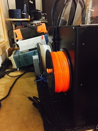 Filament Spool Holder for Flashforge Creator Pro 3D Print 101546