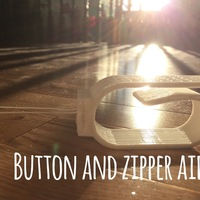 Small Button and Zipper Aid 3D Printing 101549