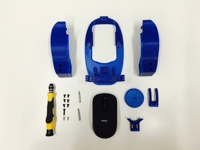 Accessible Wireless Mouse 3D Print 101604