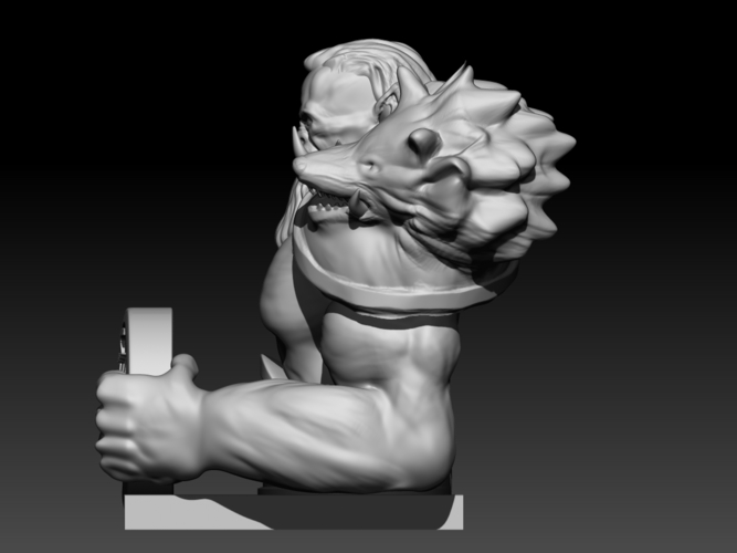 Orc  (inspired in Warcraft Movie) 3D Print 101632
