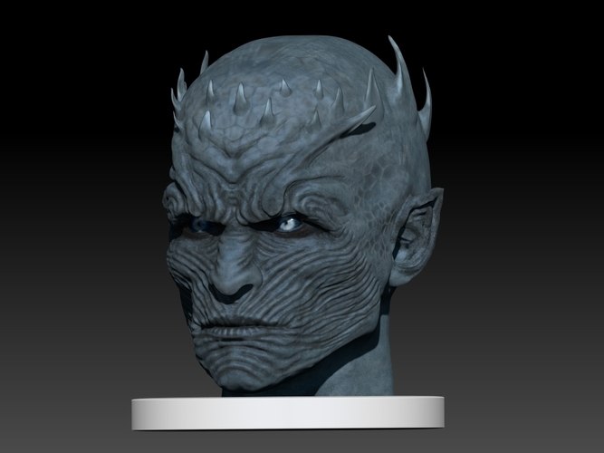 Night King Head (Game of Thrones) 3D Print 101633