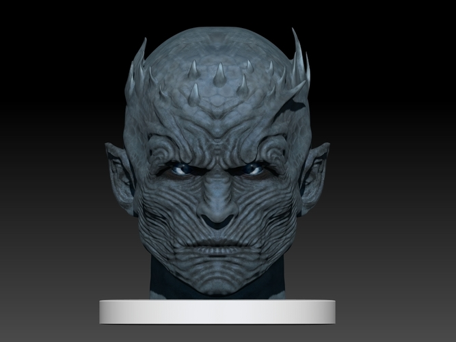 Night King Head (Game of Thrones) 3D Print 101634