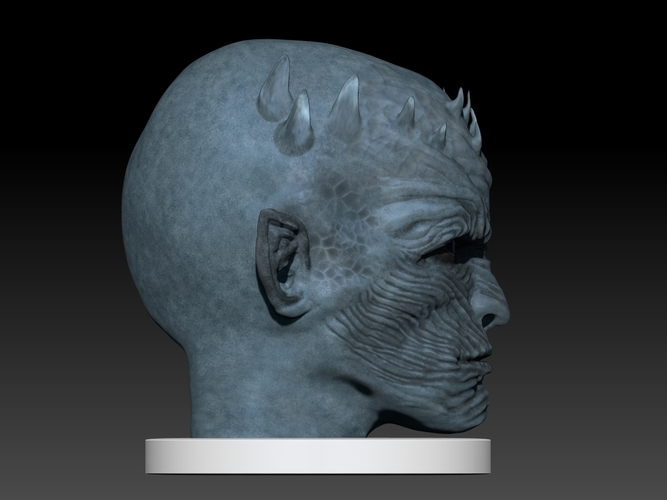 Night King Head (Game of Thrones) 3D Print 101635