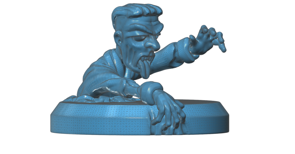 Zombie Climbing Out  3D Print 101675