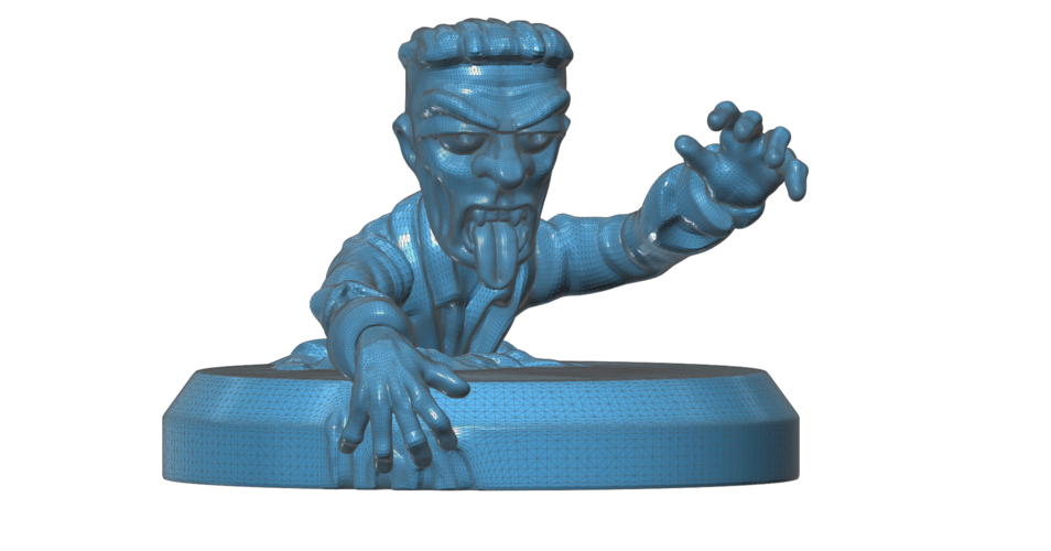 Zombie Climbing Out  3D Print 101676