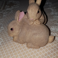 Small Scanned rabbit figure 3D Printing 101693