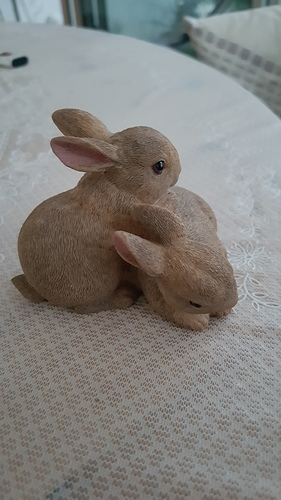 Scanned rabbit figure 3D Print 101697