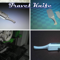 Small Travel Knife 3D Printing 101698