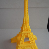 Small Eiffel Tower 3D Printing 101711