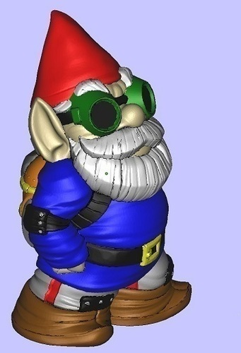 Color MakerBot Gnome 3D Print 101769