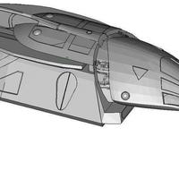 Small FOUND: Firefly Shuttle 3D Printing 101773